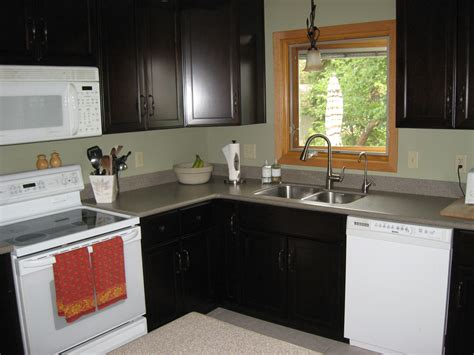 Living Countertops by Kitchen Stainless Steel Countertops Black Cabinets Front