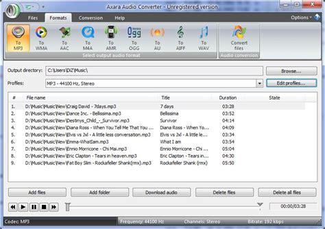 audio format voc free download audio converter mp3 wma flac voc aac