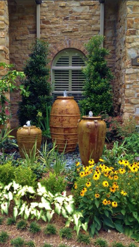 water feature backyard water feature for the front back yard yard pinterest