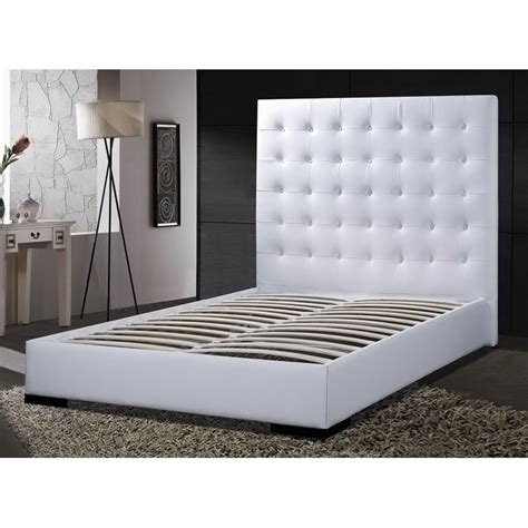 white leather queen headboard platform bed with headboard queen queen size metal