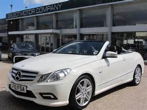 Mercedes Convertible 2010 Used Mercedes 2010 Diesel Class E350 Cdi