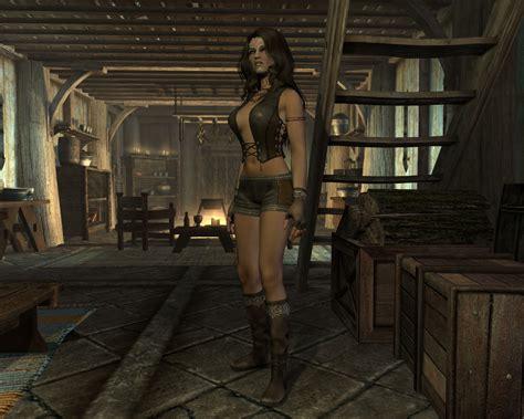 skyrim unp clothing unp leather clothes at skyrim nexus mods and community