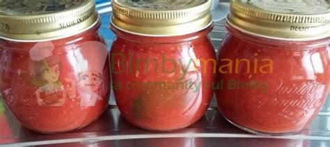 conserva fatta in casa conserva di pomodoro bimby fatta in casa ricette bimby