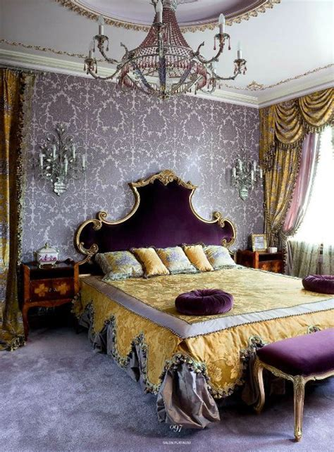 Lavender Wallpaper For Bedroom by I So This Thing For Wallpaper Baroque Style Bedroom