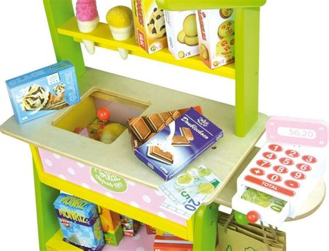 Mainan Anak Fruits Supermarket The Suitcase Play Set Koper Anak large grocery store by vilac children pretend play toys