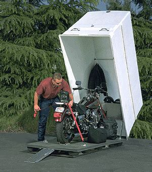 Motorbike Lock Up Shed by Here A How To Build A Motorcycle Storage Shed Shed Plans