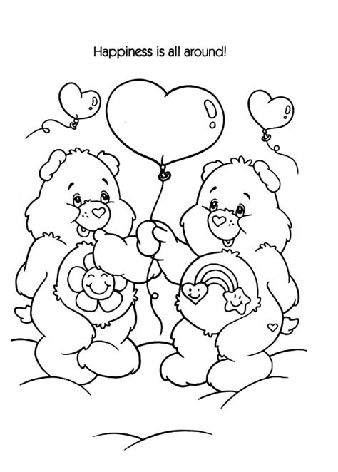 share bear coloring page care bears winter time coloring pages care bears winter