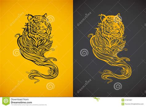 tiger spirit royalty free stock photography image 31321897