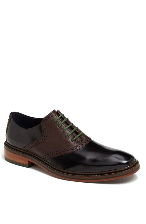 cole haan colton saddle shoe in black for black