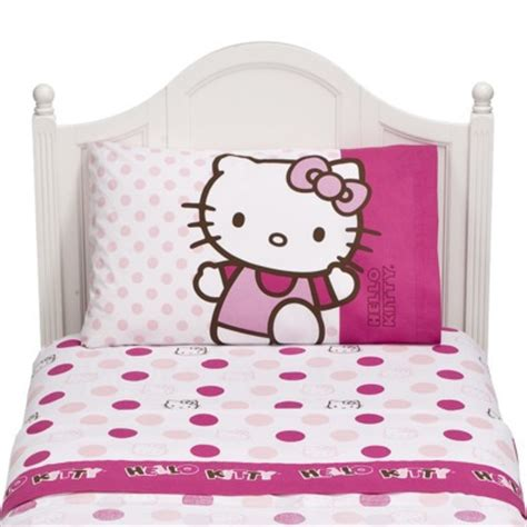 hello kitty bed sheets hello kitty twin sheet set 15 shipped my frugal adventures
