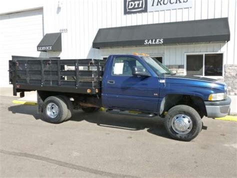 used 2001 dodge flatbed ram 3500 for sale truck trucks