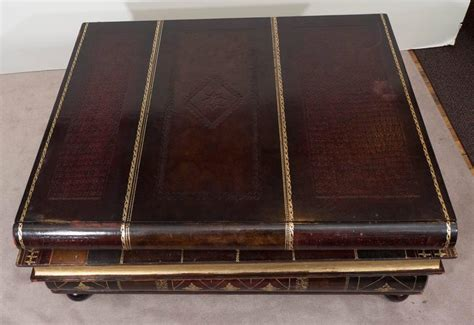 maitland smith stacked books coffee table at 1stdibs