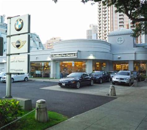 Bmw Honolulu Service by Bmw Of Honolulu Car Dealership In Honolulu Hi 96813