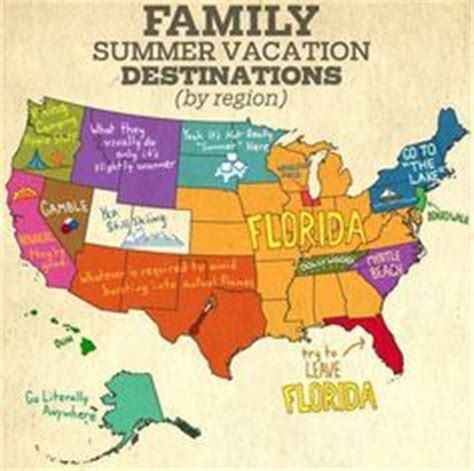 map usa vacation spots 1000 images about summer family vacations on