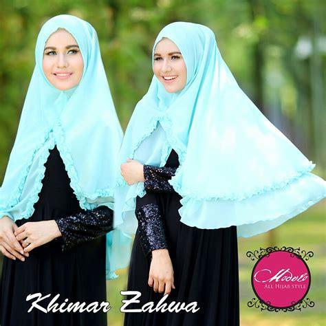 Grosir Murah Zahwa Khimar khimar zahwa by modelo pusat grosir jilbab modern