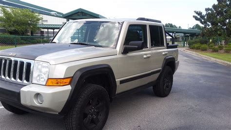 jeep commander for sale one of a kind 2008 jeep commander lifted for sale