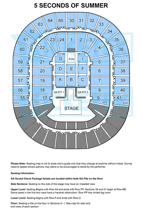 rod laver arena floor plan rod laver floor plan 5 seconds of summer melbourne tickets