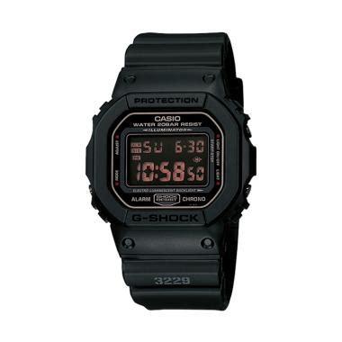 Jam Tangan Sport Pria Wanita G Shock Dw 5600 Fullblack Anti Air Kws jual casio g shock dw 5600ms 1dr jam tangan pria black