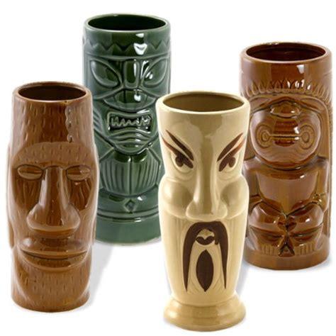 Bar Mugs Sale Tiki Island Mugs Set Of 4 Home Bars For Sale