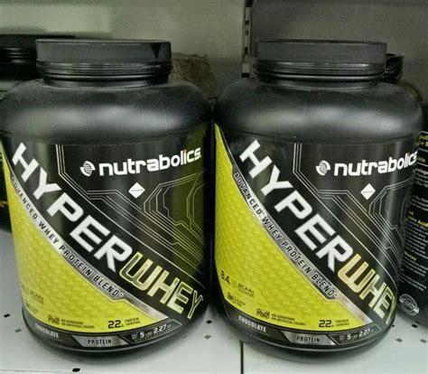 Whey Termurah Hyperwhey 5 Lbs Nutrabolic Bpom Sportisi Suplemen