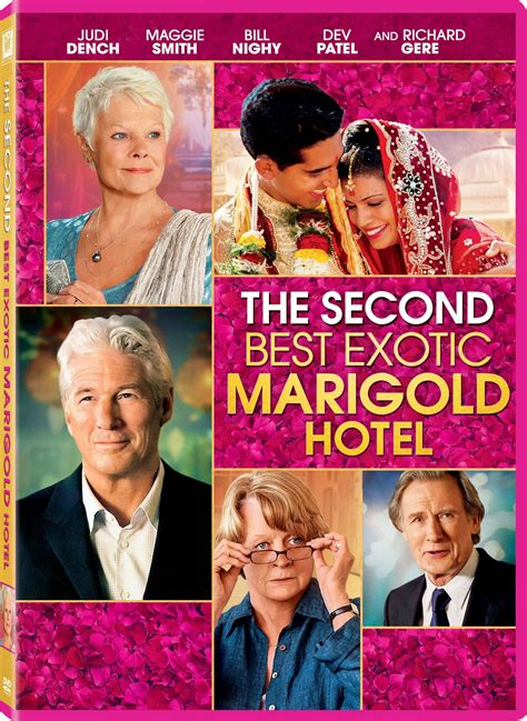 the best marigold hotel the second best marigold hotel dvd release date