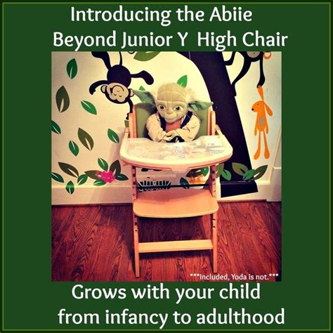 the abiie beyond junior y high chair grows with your child