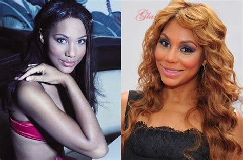 tamar braxton nose job before after the gallery for gt tamar without makeup