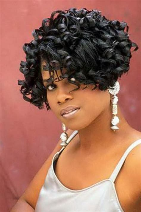 American Weave Hairstyles by Curly Bob Weave Hairstyles Hairstyles