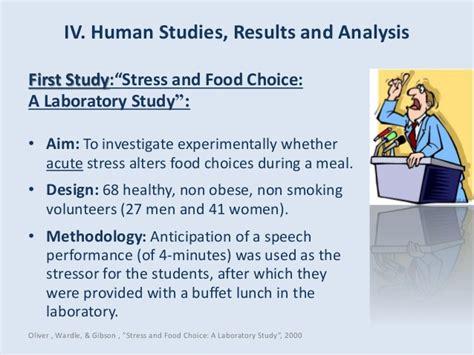 comfort food and stress presentation seminar in nutrition stress malnutrition