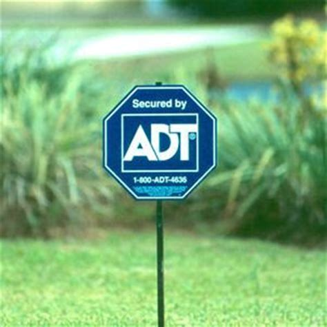 live for improvement adt yard signs the poor s