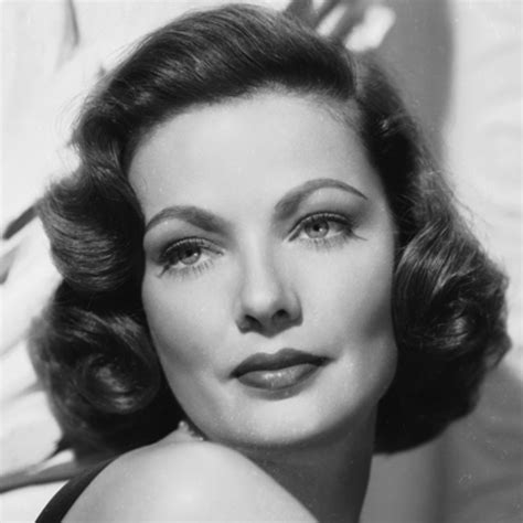 actresses in their 40s and 50s with short hair gene tierney joel solkoff