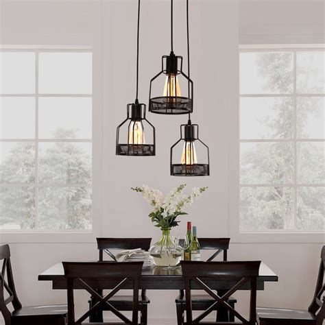 kitchen hanging lights table 30 industrial style lighting fixtures to help you achieve