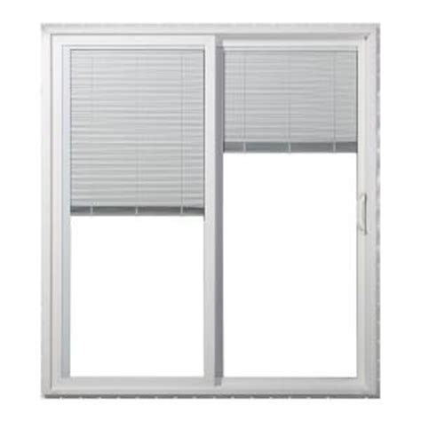 Blinds For Patio Doors Home Depot by Jeld Wen 72 In X 80 In Right Premium Vinyl Sliding