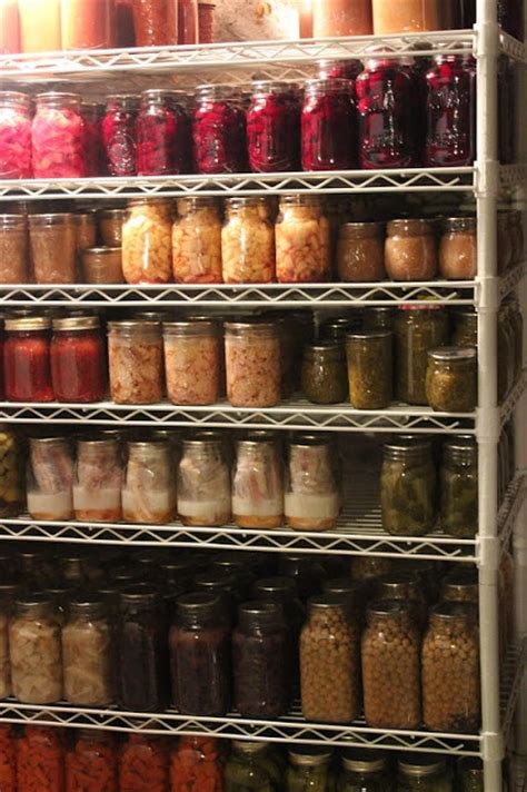 Canning Shelf by Canning Jar Storage Canning
