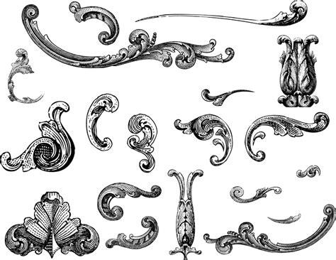 imagenes vectoriales gratuitas free vectors engraved ornaments vector download