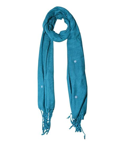 Handmade Stoles - sss stylish handmade stoles green buy at