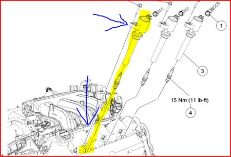 where is the d ignition coil on an 05 escape  i have error