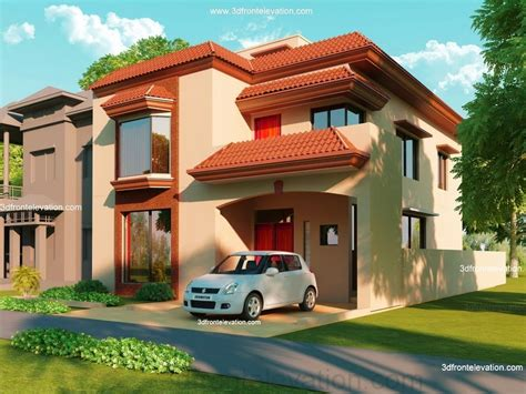 3d home design 5 marla 3d front elevation com 5 10 marla house plan 3d front
