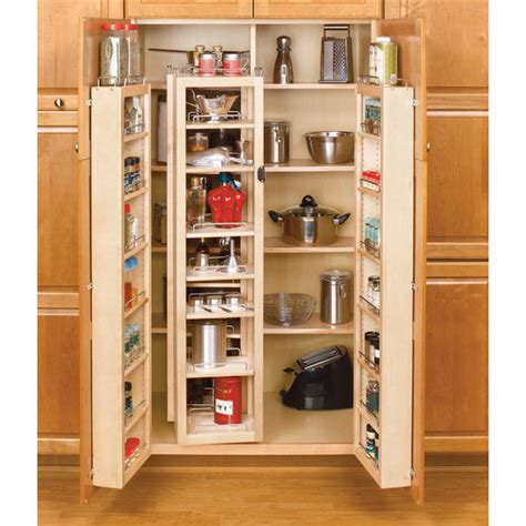Rv Pantry Storage by Rev A Shelf Swing Out Kitchen Cabinet Chef S Pantries