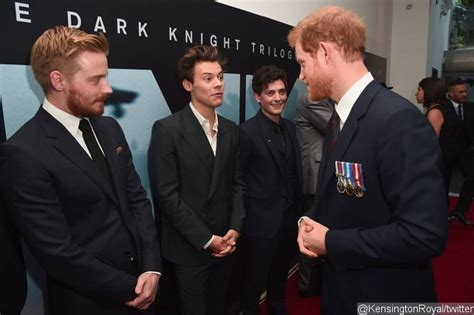 film dunkirk showing in london harry styles meets prince harry during dunkirk premiere