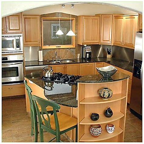 Ideas For Kitchen Islands In Small Kitchens Home Design Ideas Small Kitchen Island Design Ideas