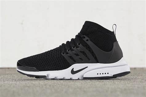 nike air presto ultra flyknit black white sneaker freaker