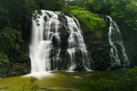 silvery waterfalls  coorg   waiting   explored