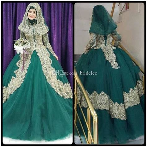 Gaun Diana Blue Maxi turkish islamic green wedding dress 2017 gown tulle