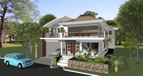 architectural home design by las architects category apartments type exterior house designs philippines architect bill house plans