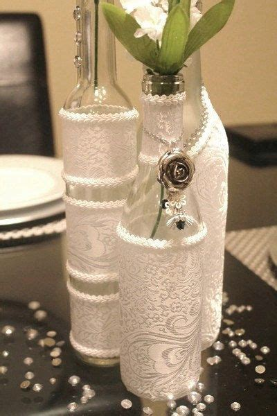 decorating wine bottles for bridal shower Archives   Party