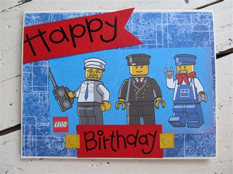 printable birthday cards lego lego birthday card happy birthday by thecreativecard on etsy