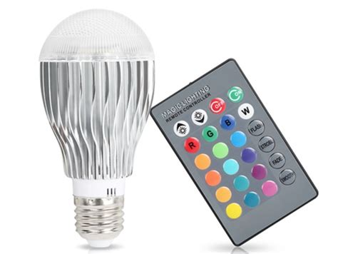 led color changing light bulb with wireless remote color changing light bulb with remote 28 images color