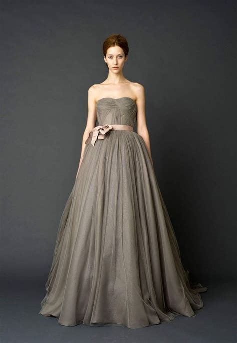 utterly gorgeous coloured gowns   unconventional