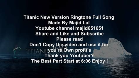 new year song version titanic new version ringtone song 2013 by majid651651